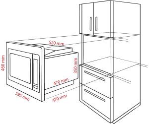 bomann mwg 2216 h eb ab 144 99 preisvergleich bei. Black Bedroom Furniture Sets. Home Design Ideas
