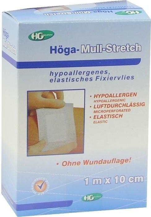 Höga Mull Stretch Klebevlies 10 cm x 1 m