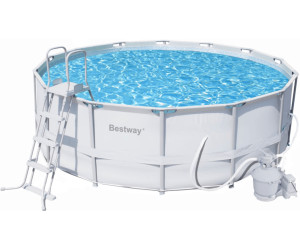 Sehr Gut Bestway Steel Pro Frame Pool 549 x 132 cm ab 599,00  UV46