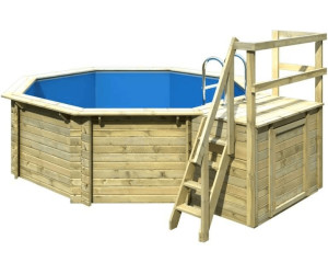 Karibu 415 variante b 415 x 124 cm ab for Hagebau intex pool