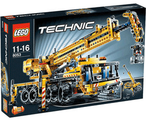 lego technic mobiler kran 8053 ab 259 00. Black Bedroom Furniture Sets. Home Design Ideas