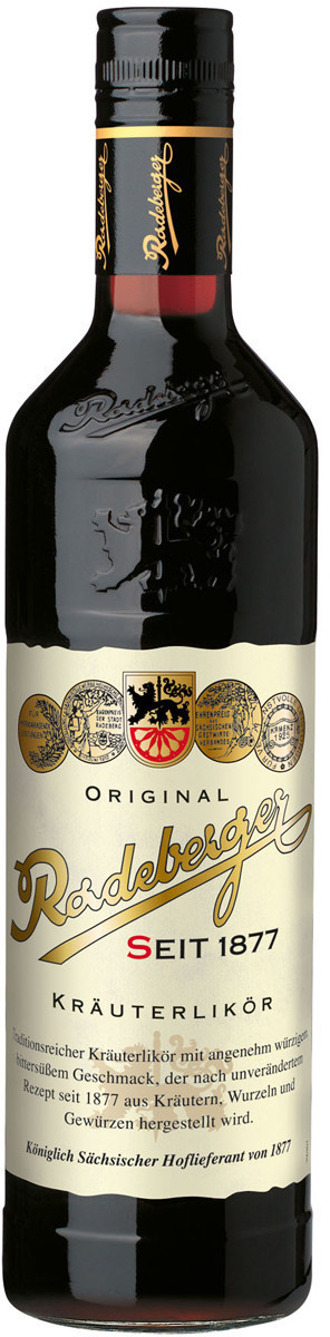 Original Radeberger Kräuterlikör 0,7l 35%