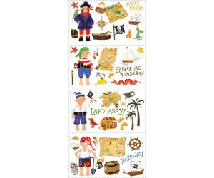 classcic sélectionner pour le dédouanement magasiner pour véritable RoomMates Pirates Wall Decoration au meilleur prix sur idealo.fr