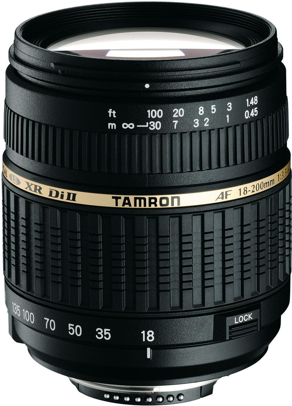 Tamron AF 18-200 mm f3.5-6.3 XR Di II LD IF Macro Nikon