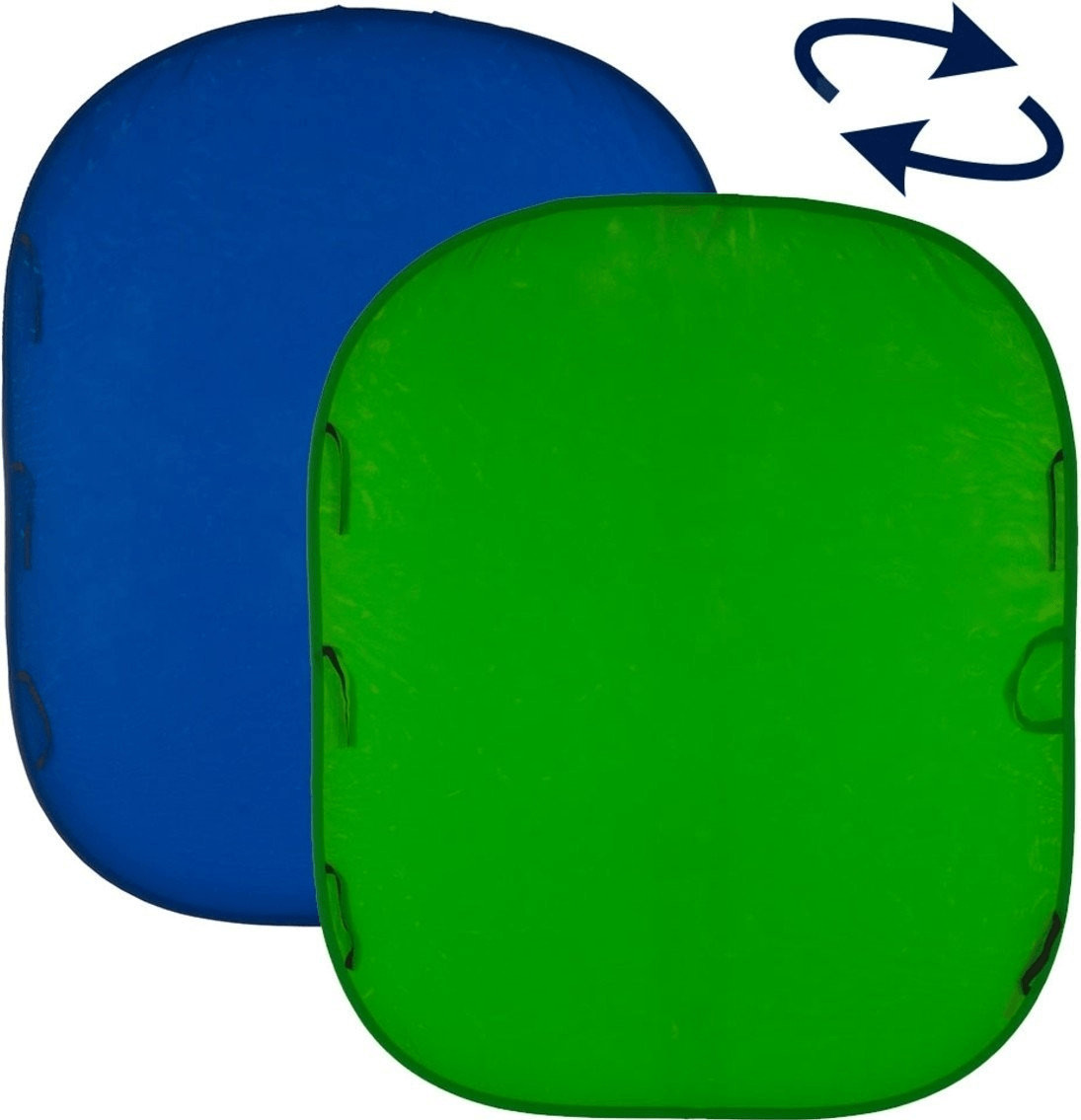 Image of Lastolite Chromakey Collapsible Background Blue/Green Reversible 150cm x 180cm (5' x 6')