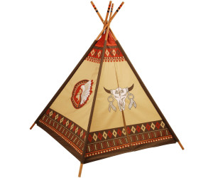 knorrtoys indianerzelt tipi ab 32 92 preisvergleich bei. Black Bedroom Furniture Sets. Home Design Ideas