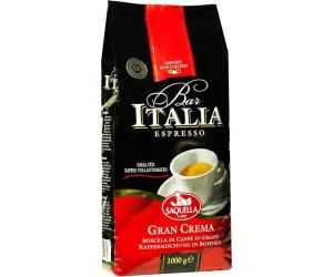 Saquella bar italia gran crema bohnen 1 kg ab 12 99 for Heimeier italia