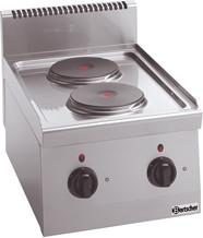 Bartscher 2 Platten Elektroherd Serie 600 (131722)