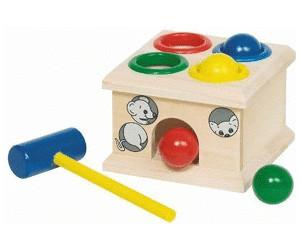 Holzspielzeug goki Klopfbank