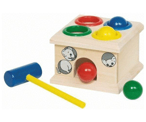 goki Klopfbank Balancespiele Motorikspielzeug