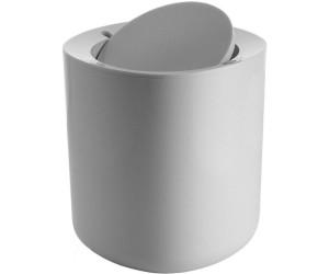 Alessi Birillo Bathroom Waste Bin PL10 W white
