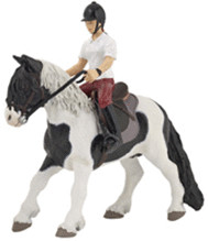 Papo Pony mit Sattel (51117)