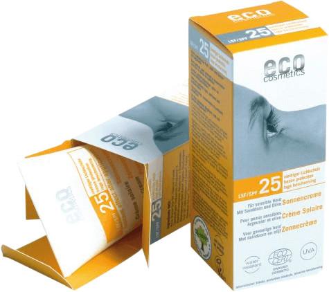 Eco Cosmetics Sonnencreme LSF 25 (75 ml)
