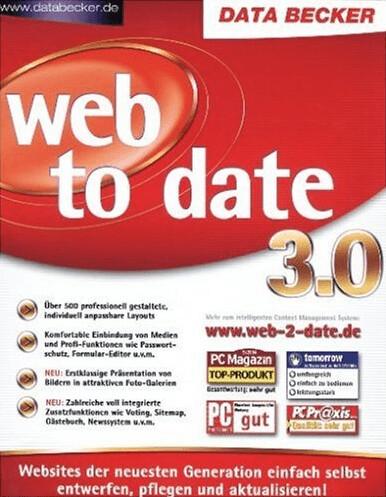 Data Becker Web to Date 3.0 (DE) (Win)