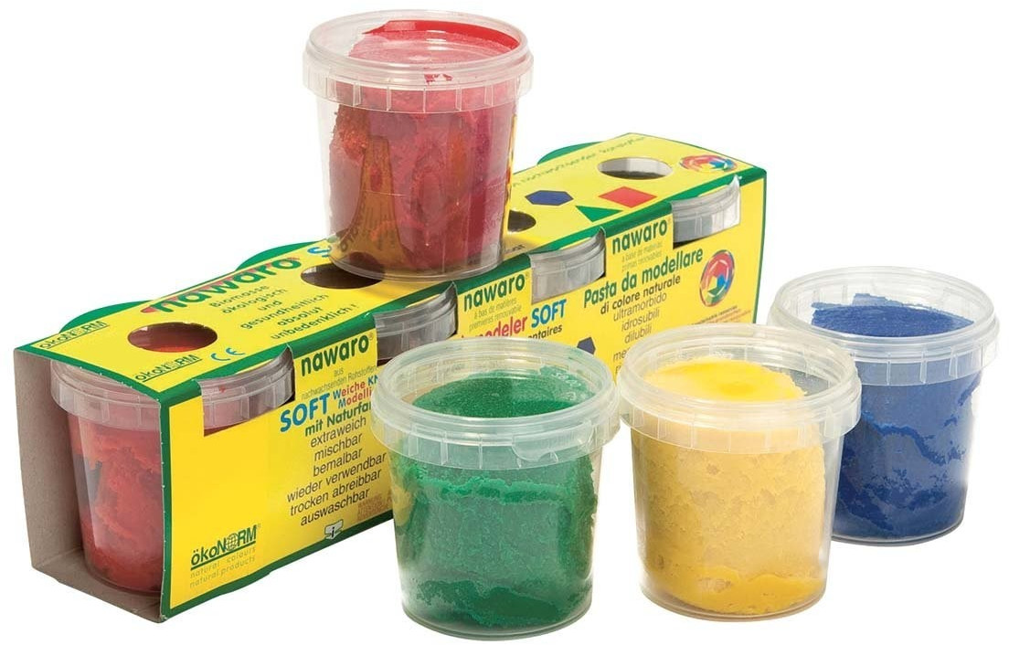 Ökonorm Soft-Knete Knetmasse 4 Farben (52040)