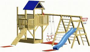 Winnetoo Hexe 4 Spielturm