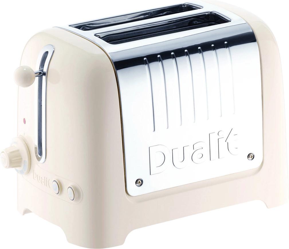 Image of Dualit 2 Slice Lite Toaster Gloss Cream 26202