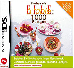 Image of 1000 Cooking Recipes from Elle a Table (DS)