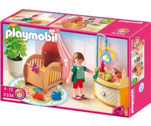 Playmobil chambre de b b avec berceau 5334 au meilleur for Playmobil chambre bebe