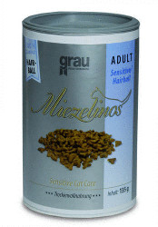 Grau Miezelinos Adult Sensitive/Hairball (2,5 kg)