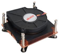 Image of Akasa 1U Cooler for Intel LGA1366 (AK-CC064)