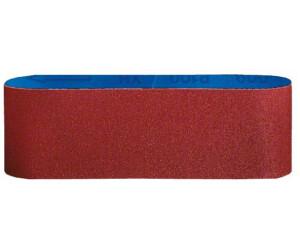 10 Stück Gewebe-Schleifbänder 75 x 533 mm K240 Schleifpapier Schleifband Bänder
