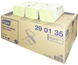 200 Blatt Tork Papierhandtücher Universal H3 290135 1-lagig grün ZZ-Falz 25x23cm