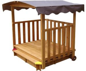 gaspo spielhaus mit sandkasten ab 173 99 preisvergleich bei. Black Bedroom Furniture Sets. Home Design Ideas