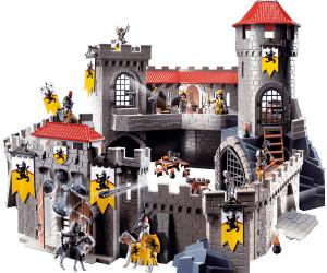 playmobil ch teau fort des chevaliers du lion 4865 au