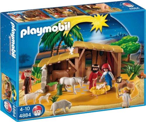 Playmobil Grosse Krippe mit Stall (4884)