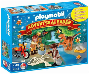 playmobil adventskalender dino expedition 4162 ab 19 99. Black Bedroom Furniture Sets. Home Design Ideas