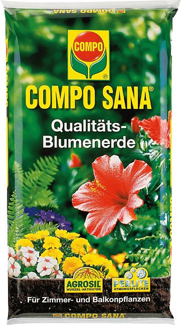 Compo Sana Qualitäts-Blumenerde 5 Liter