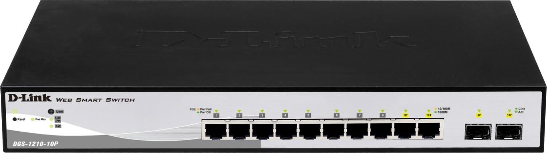 Image of D-Link 10-Port Gigabit Switch (DGS-1210-10P)