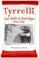 Tyrrell´s Sweet Chilli & Red Pepper Crisps (150 g)