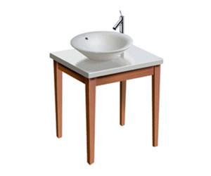 duravit starck 1 waschtisch komplett 73 x 58 cm 3680000. Black Bedroom Furniture Sets. Home Design Ideas