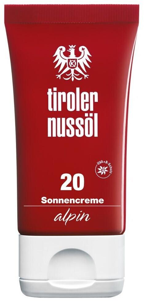 Tiroler Nussöl alpin Sonnencreme LSF 20 (40 ml)