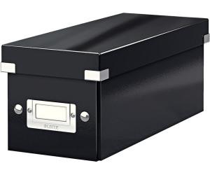 leitz 60410095 click store cd ablagebox schwarz ab 4 51 preisvergleich bei. Black Bedroom Furniture Sets. Home Design Ideas