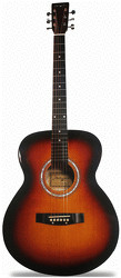 Image of Martin Smith Full Size Acoustic W-100
