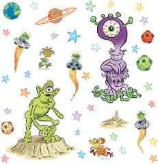 FunToSee Aliens 39 tlg.