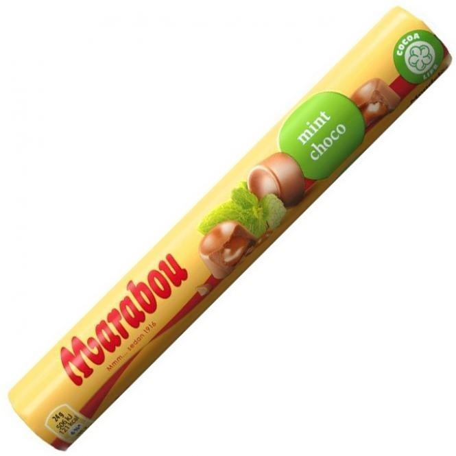 Marabou Rolle Mint-Choco (78 g)