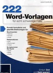 Franzis 222 Word-Vorlagen (DE)