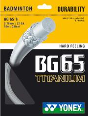 Yonex BG 65 Ti - 10 m