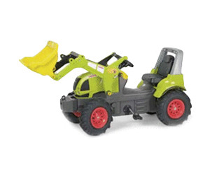 Image of Rolly Toys FarmTrac Claas Arion 640 con palarollyTrac e ruote gonfiabili