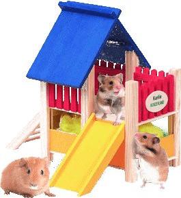 Karlie Wonderland Spielplatz mit Rutsche