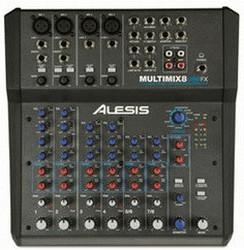 Image of Alesis MultiMix 8 USB FX