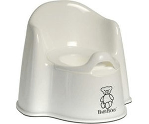 Image of Babybjorn Potty Chair Snow White