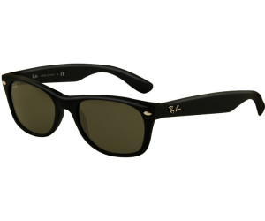 d270d5074ae Ray-Ban New Wayfarer RB2132 622 (black rubber green) ab 70