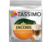 LM Gläser TASSIMO Vivy 2 20 EUR Gutscheine* TDisc Kapseln Latte Macchiato