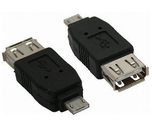 InLine 31600 Micro-A USB A Nero cavo di interfaccia e adattatore