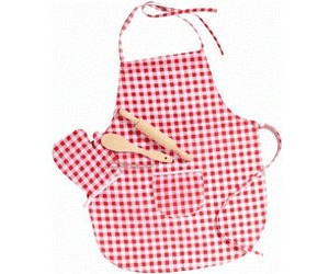 Happy People Set da cucina con grembiule e mattarello a € 8,19 ...